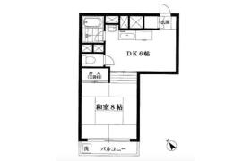 大田区北馬込-1DK{building type}
