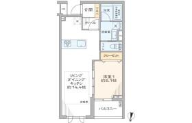 渋谷区 東 1LDK {building type}