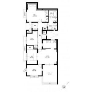 4LDK {building type} in Kagahara - Yokohama-shi Tsuzuki-ku Floorplan