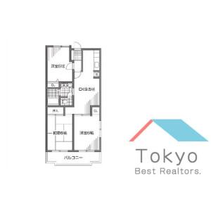 3LDK Mansion in Miyamae - Suginami-ku Floorplan