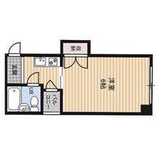 1K Apartment in Katamachi - Osaka-shi Miyakojima-ku Floorplan