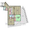 2LDK Apartment to Rent in Zushi-shi Floorplan
