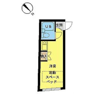 1R Mansion in Nishinippori - Arakawa-ku Floorplan