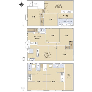 Whole Building {building type} in Futaba - Shinagawa-ku Floorplan