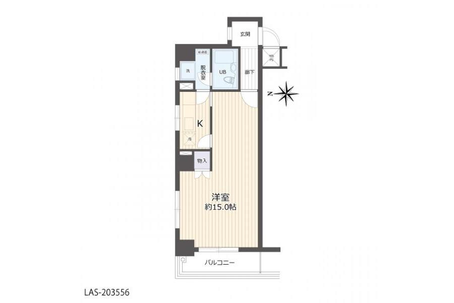 在Nagoya-shi Naka-ku購買1K 公寓的房產 房間格局