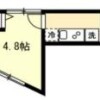 1K Apartment to Rent in Yokohama-shi Tsurumi-ku Floorplan