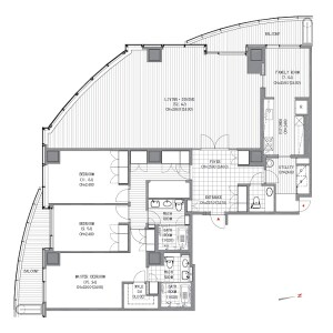 港區愛宕-3LDK公寓 房間格局