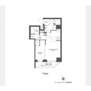 1LDK Mansion in Higashiueno - Taito-ku Floorplan