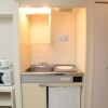 1R Apartment to Rent in Kita-ku Kitchen
