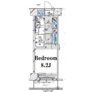 豊島區上池袋-1K公寓大廈 房間格局