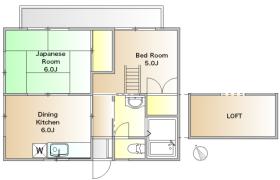 2DK Apartment in Yoga - Setagaya-ku