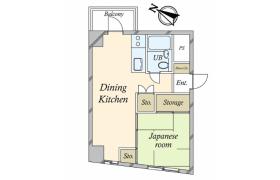 港区 - 西麻布 公寓 1DK