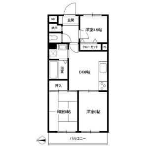 3DK Mansion in Maedacho - Yokohama-shi Totsuka-ku Floorplan