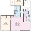 2LDK Apartment to Buy in Yokohama-shi Hodogaya-ku Floorplan