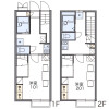 1K Apartment to Rent in Nagoya-shi Chikusa-ku Floorplan