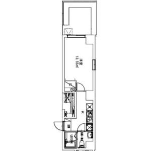 1K Mansion in Takinogawa - Kita-ku Floorplan