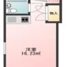 1R Apartment to Rent in Chiba-shi Midori-ku Layout Drawing