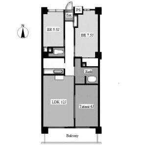 3LDK Apartment in Sakuragaoka - Nagoya-shi Chikusa-ku Floorplan