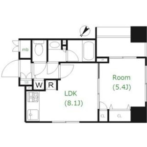 1LDK Mansion in Takinogawa - Kita-ku Floorplan