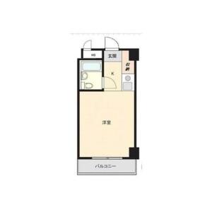 1R {building type} in Hazamamachi - Hachioji-shi Floorplan