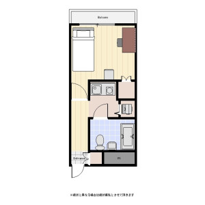 1K Mansion in Minamioi - Shinagawa-ku Floorplan