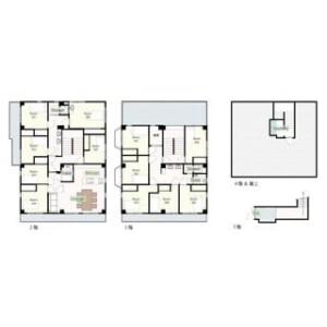 ♠♠ [Share House] LAFESTA Shimokitazawa-Gotokuji  - Guest House in Setagaya-ku Floorplan