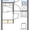 1K Apartment to Rent in Fukuoka-shi Higashi-ku Floorplan
