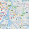 在江东区购买3LDK 独栋住宅的 地图