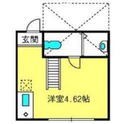 1R Apartment in Amanumacho - Saitama-shi Omiya-ku Floorplan