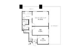 新宿區新宿-2LDK公寓大廈