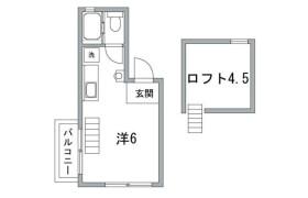 澀谷區恵比寿-1R公寓