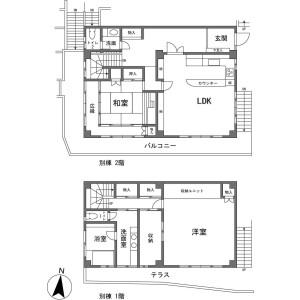 7LDK {building type} in Miyakami - Ashigarashimo-gun Yugawara-machi Floorplan