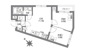 目黒区南-2LDK公寓大厦
