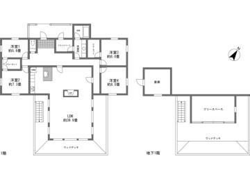 4SLDK House to Buy in Kitasaku-gun Karuizawa-machi Floorplan