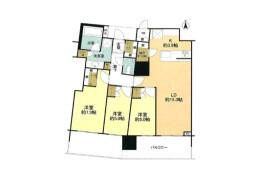 3LDK Apartment in Minamiikebukuro - Toshima-ku