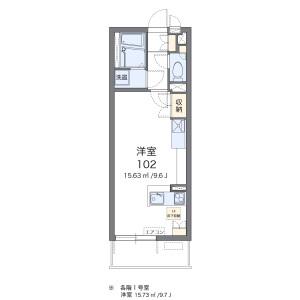 1R Mansion in Katsutomicho - Sasebo-shi Floorplan