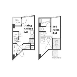 1DK Mansion in Eifuku - Suginami-ku Floorplan