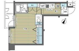1R Apartment in Meguro - Meguro-ku