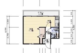 福岡市中央区 港 1R {building type}