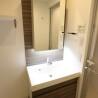 1K Apartment to Buy in Minato-ku Washroom