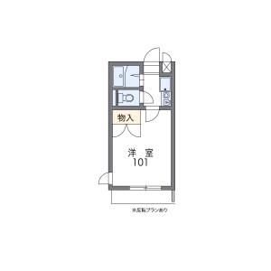 1K Apartment in Nishikicho - Tachikawa-shi Floorplan