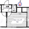 2DK マンション 世田谷区 間取り