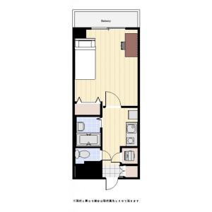 1K Mansion in Kandanishikicho - Chiyoda-ku Floorplan