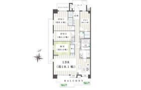 4LDK Apartment in Kamiyabecho - Yokohama-shi Totsuka-ku