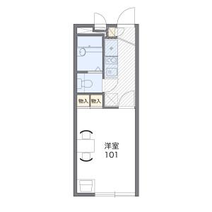 1K Mansion in Omaru - Inagi-shi Floorplan