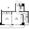 1DK Apartment to Rent in Setagaya-ku Floorplan