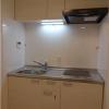 在港區購買1K 公寓大廈的房產 廚房