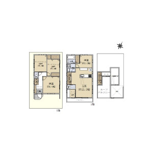 2SLDK {building type} in Doshida - Nerima-ku Floorplan