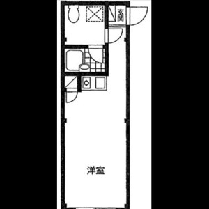 1R Apartment in Miyacho - Saitama-shi Omiya-ku Floorplan