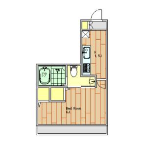 1K Apartment in Higashi - Shibuya-ku Floorplan